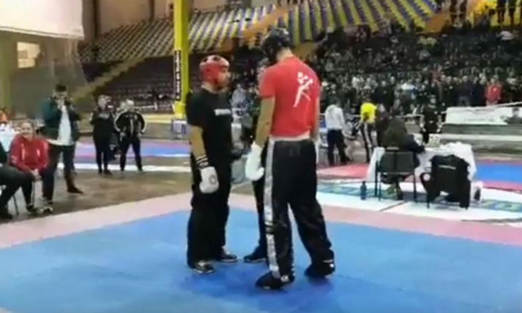 Ricardo Araújo Pereira na Taça de Portugal de kickboxing e muaythai (youtube)