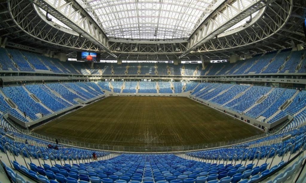 Estádio Krestovsky (AP Photo/Dmitri Lovetsky)