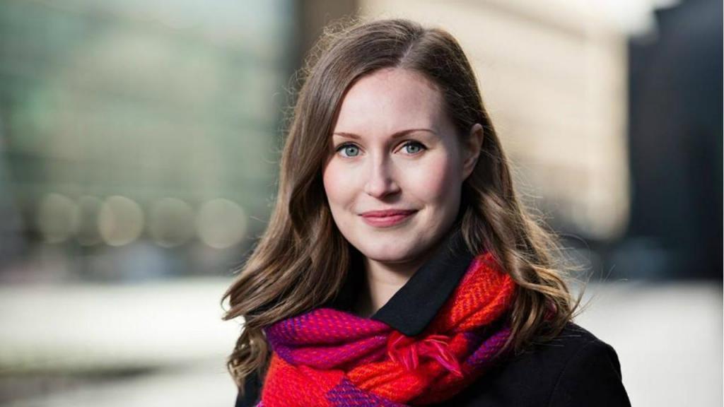 Sanna Marin foi escolhida como primeira-ministra da Finlândia