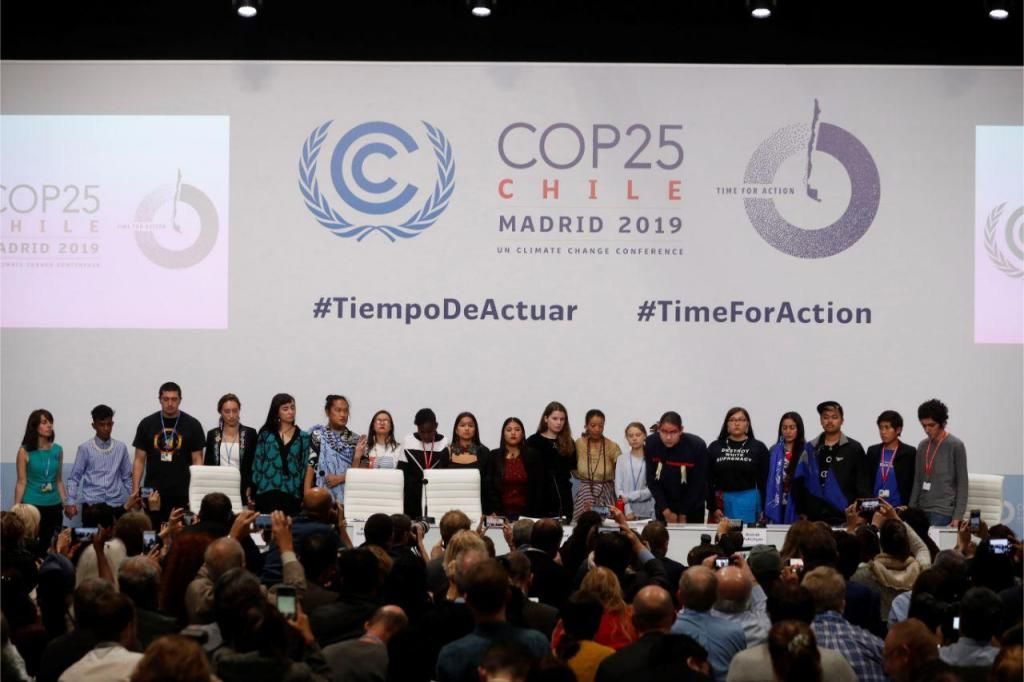 Cimeira do Clima em Madrid