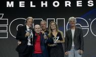 Jorge Jesus premiado como melhor treinador do Brasileirão na Gala da CBF (LucasFigFoto/CBF)
