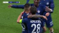 VÍDEO: enorme cabeçada de Azpilicueta a fazer o segundo do Chelsea