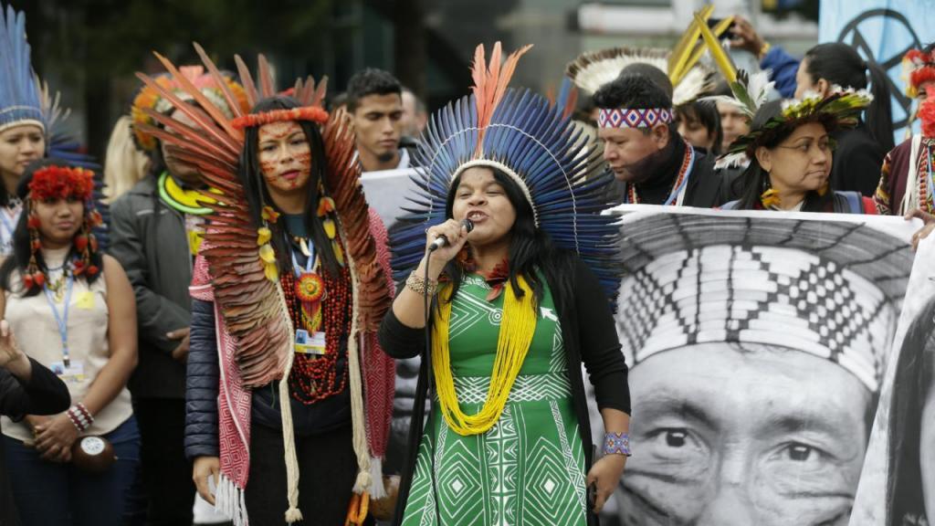 Povos indígenas exigem proteção na COP25
