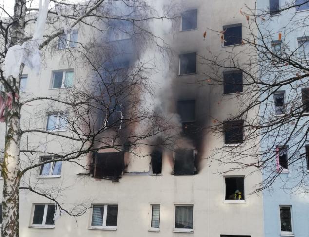 Explosão em edifício residencial na Alemanha
