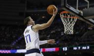 Detroit Pistons-Dallas Mavericks: Luka Doncic (AP Photo/Rebecca Blackwell)