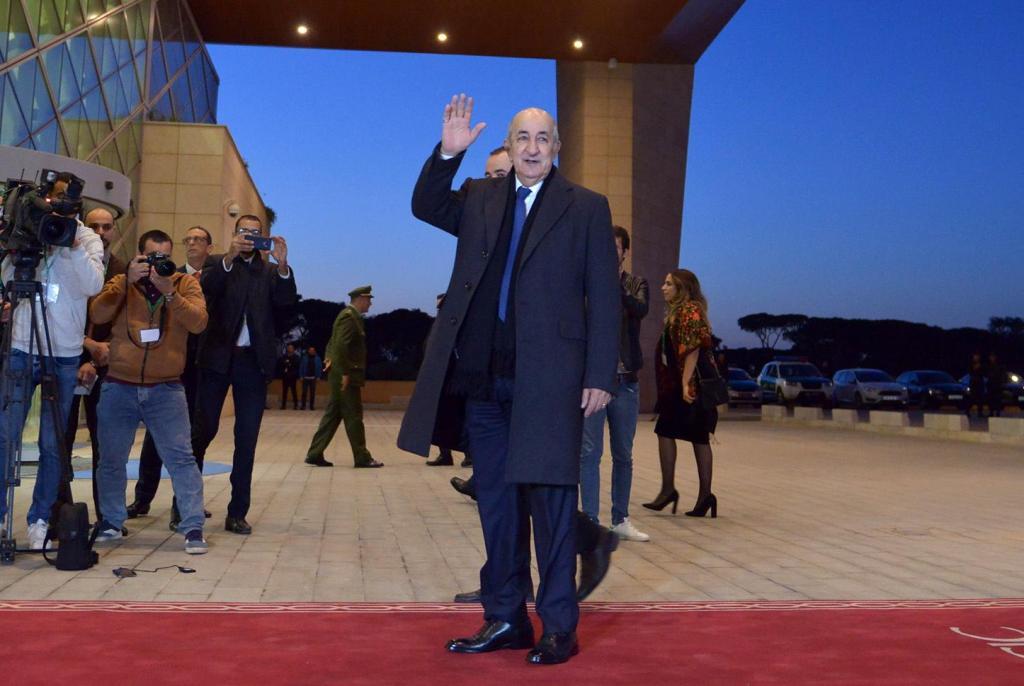 Abdelmadjid Tebboune, presidente da Argélia