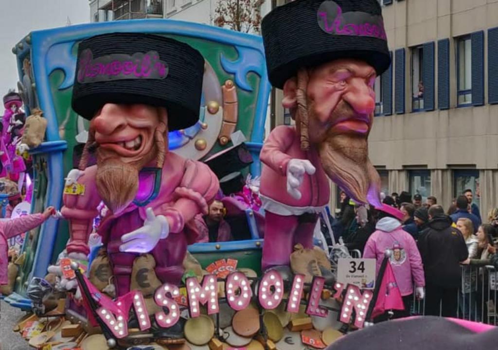 Caricaturas de judeus no Carnaval de Aalst
