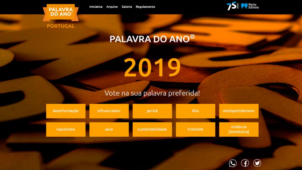 Palavra do Ano de 2019