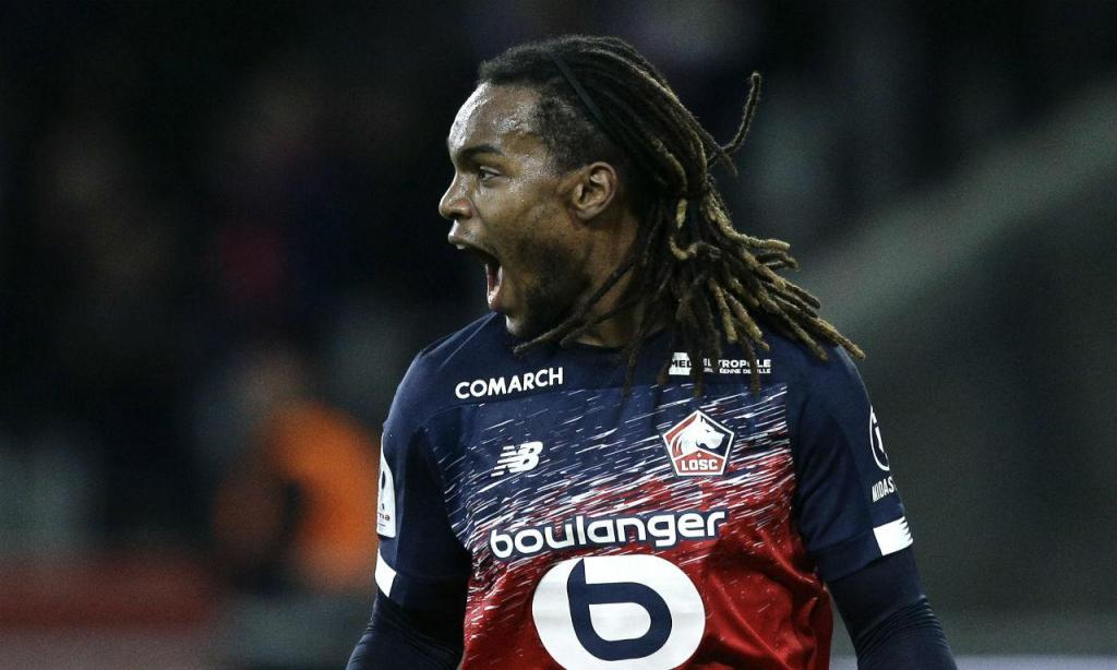 Renato Sanches no Lille-Montpellier ((AP Photo/Michel Spingler)