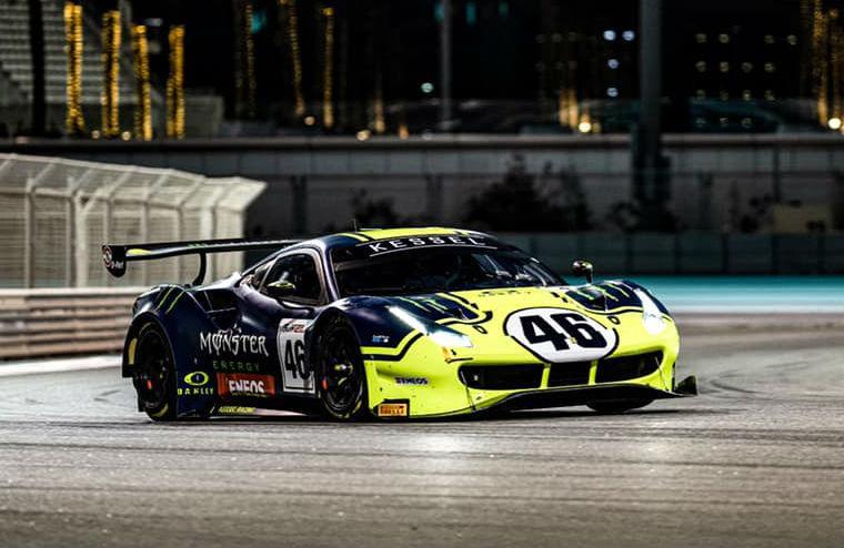 Rossi vence as 12 Horas do Golfo (reprodução Facebook Valentino Rossi VR46 Official)