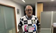 Sr. Moutinho, cobrador de quotas do Boavista (Vítor Maia)