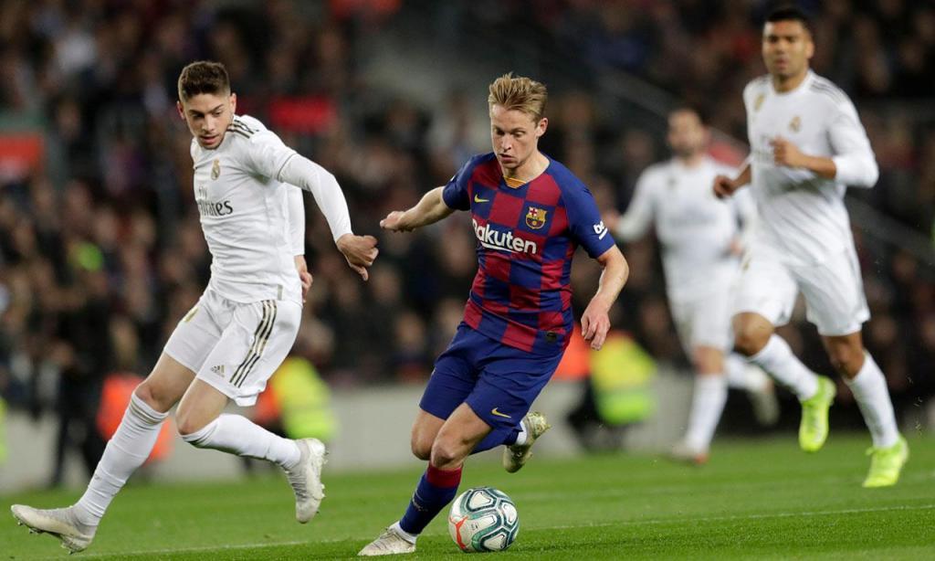 20) De Jong (Barcelona): 102,1 milhões de euros