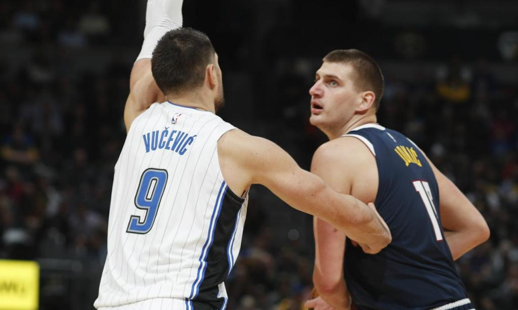 Denver Nuggets-Orlando Magic (AP Photo/David Zalubowski)
