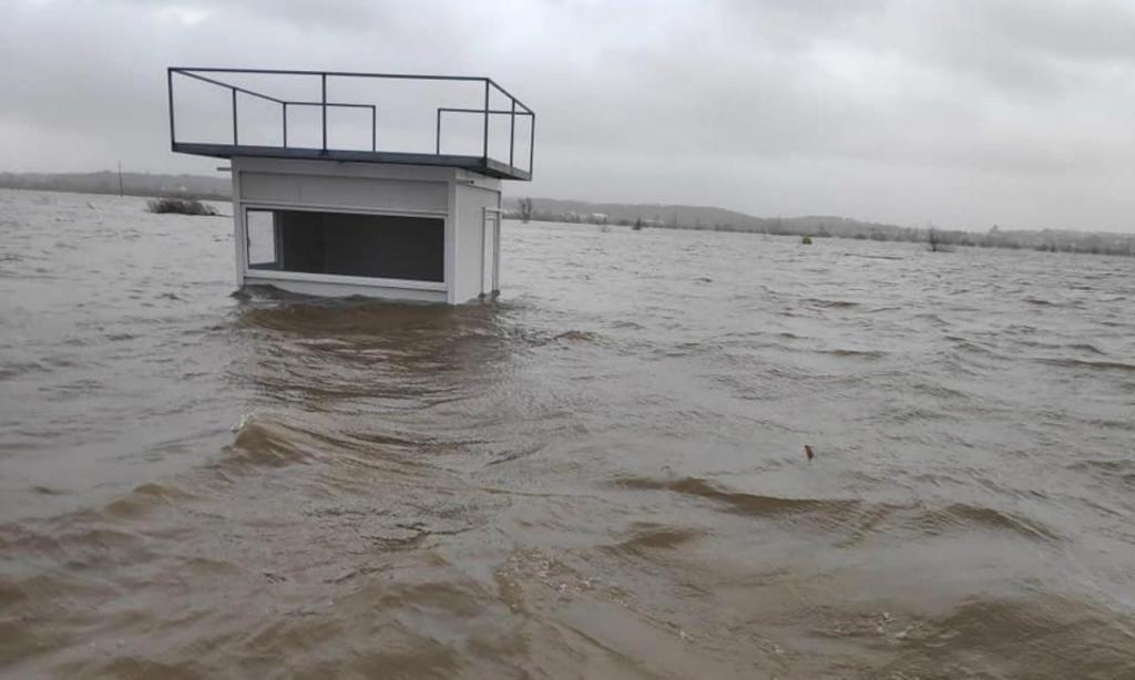 Inundação do Centro de Alto Rendimento de Montemor-o-velho