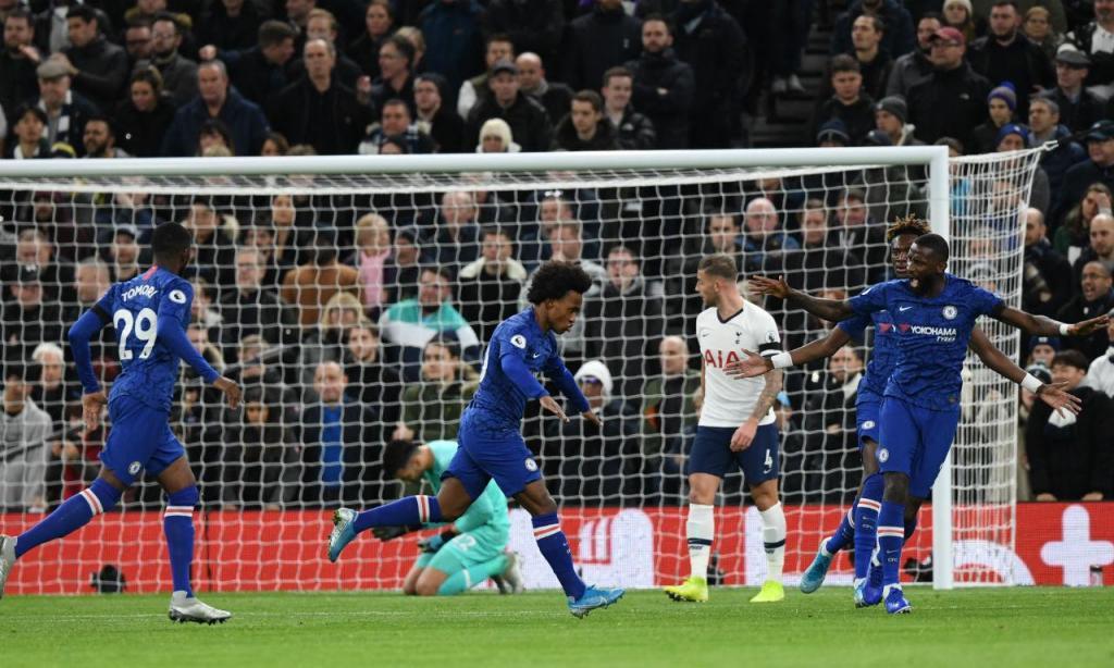 Tottenham-Chelsea (Lusa)