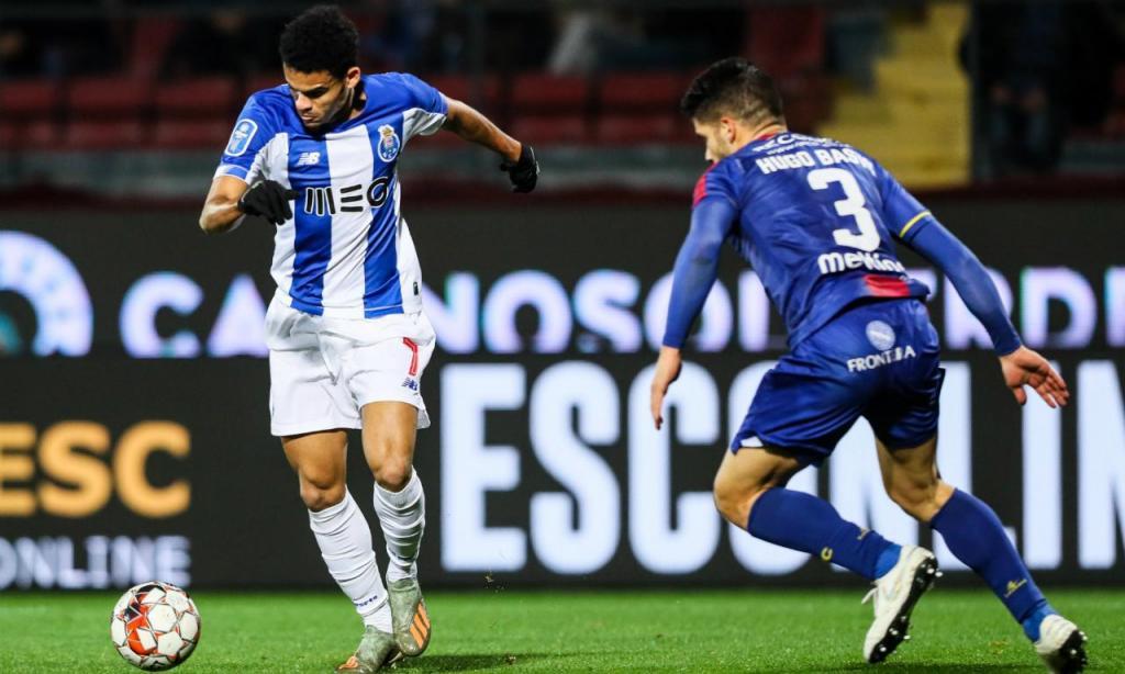Desp. Chaves-FC Porto (LUSA)
