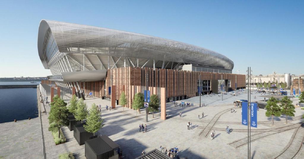 Novo estádio Everton