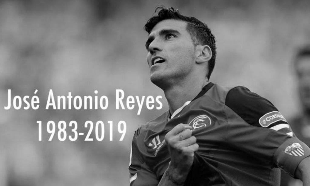 Jose Antonio Reyes: 1 de setembro de 1983-1 de junho de 2019
