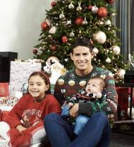 O Natal 2019 no mundo do futebol - James Rodríguez