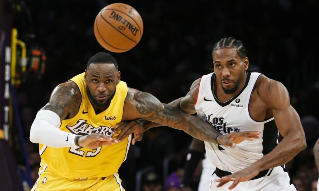 Los Angeles Lakers-Los Angeles Clippers (AP Photo/Ringo H.W. Chiu)