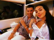 Cristiano Ronaldo e Georgina Rodriguez no Dubai