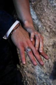 Festa de renovação dos votos de casamento de Luis Suarez e Sofia Balbi (EPA/Federico Anfitti)
