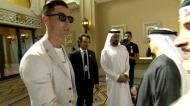 Cristiano Ronaldo recebido com honras de Estado no Dubai