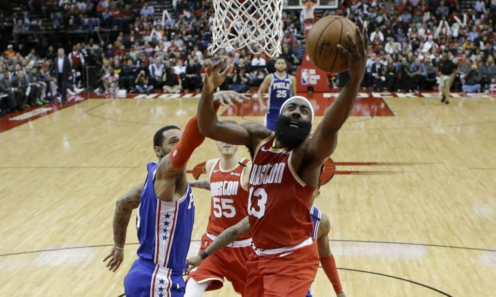 Houston Rockets-Philadelphia 76ers (AP Foto/Eric Christian Smith)