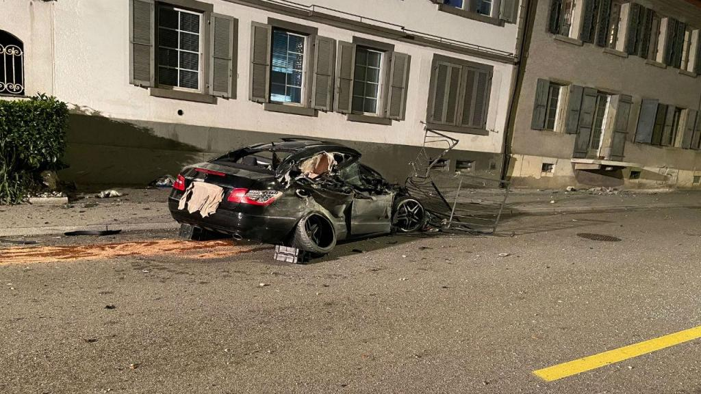 Português morre em violento despiste na Suíça
