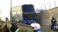 A chegada do autocarro do FC Porto a Alvalade