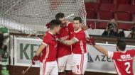 Hóquei: os golos do triunfo do Benfica sobre o Sporting