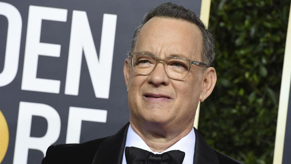 Tom Hanks na 77.ª cerimónia dos Globos de Ouro