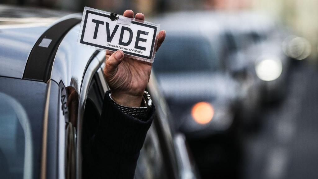 Greve nacional de trabalhadores TVDE
