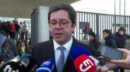 Secretário de Estado comenta incidentes no V. Guimarães-Benfica