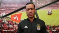 Raul de Tomás despede-se dos adeptos do Benfica