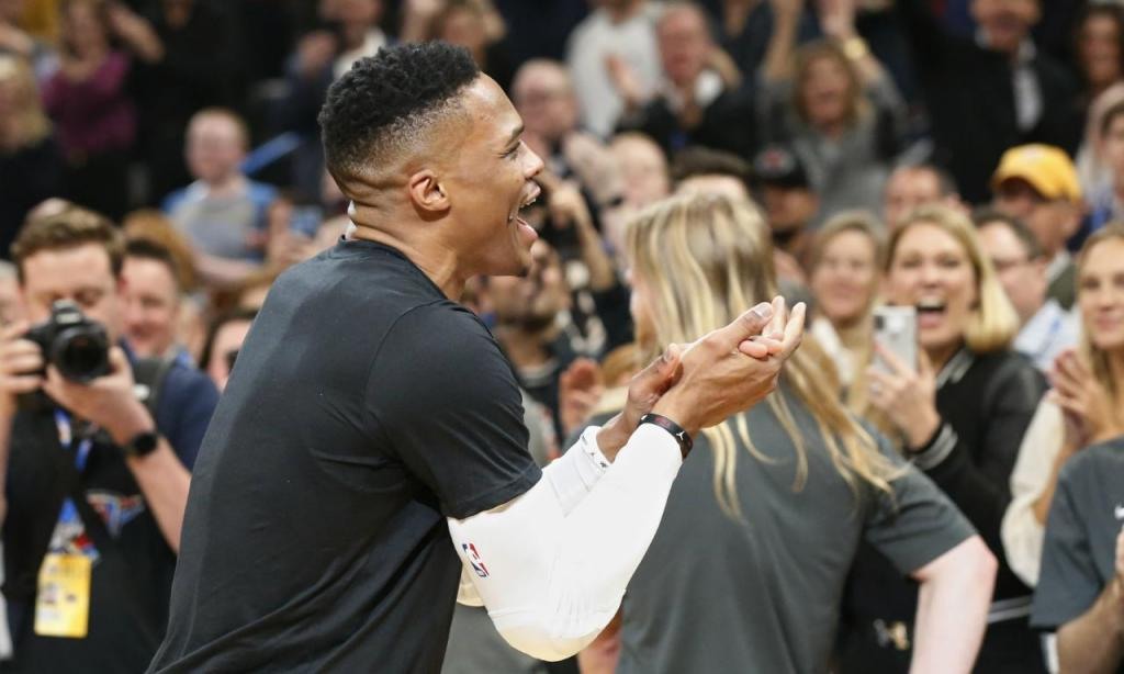 Russell Westbrook (AP Photo/Sue Ogrocki)