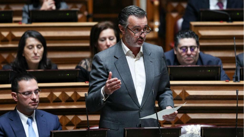 João Cotrim Figueiredo, da Iniciativa Liberal, no debate da generalidade do OE2020