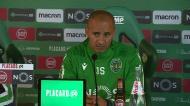 «Falei com treinador do V. Setúbal e ele percebeu a minha parte»