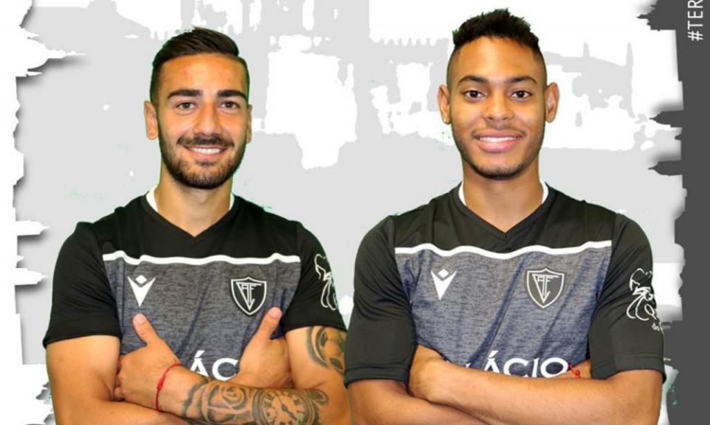 Facundo Batista e Ismael Díaz (Ac. Viseu)