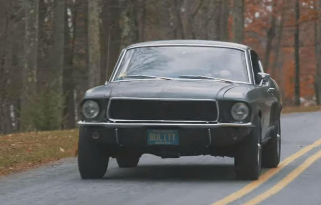 Ford Mustang GT Bullitt (reprodução YouTube Mecum Auctions)