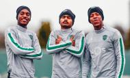 Treino Sporting (Imagens Sporting Clube de Portugal)