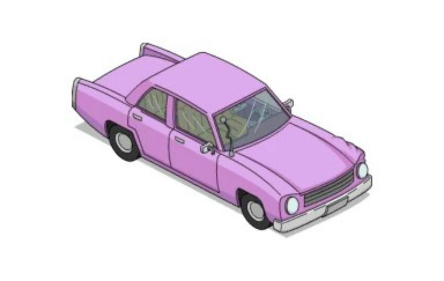 Carro de Homer Simpson (reprodução 'Simpsons Wiki')