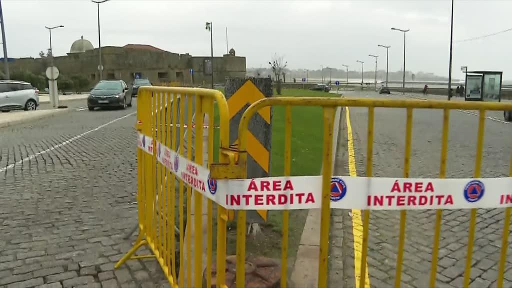 Mau tempo no Porto: Polícia Marítima recomenda