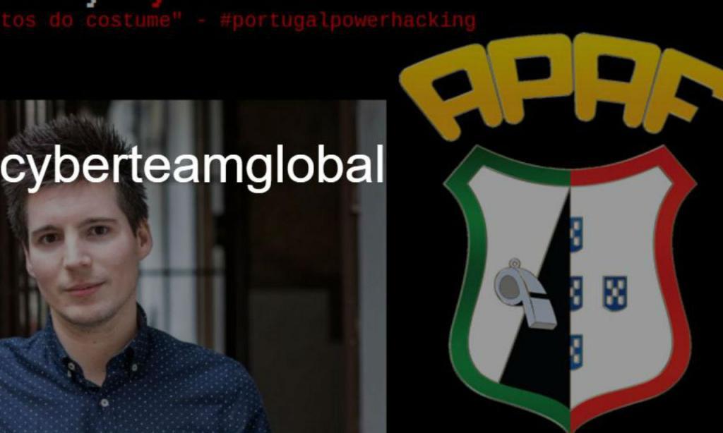 Site da APAF «pirateado»