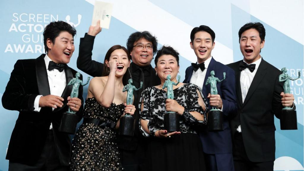 """""""Parasite"""" venceu o prémio de melhor elenco do Sindicato dos Atores dos Estados Unidos, tornando-se o primeiro filme em língua estrangeira a receber tal distinção"""