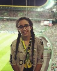 Até ao Fim: Miriam Raquel na deslocação a Alvalade para um Sporting-Tondela