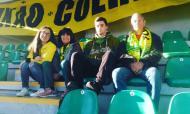 Até ao Fim: Miriam Raquel, adepta do Tondela, com a família no estádio