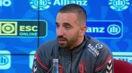 «Mathieu foi ao balneário pedir desculpa ao Esgaio»