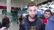 Sporar aterrou em Lisboa para reforçar o Sporting: «Estou muito feliz»