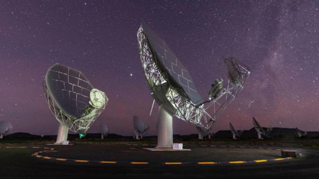 Telescópio na África do Sul